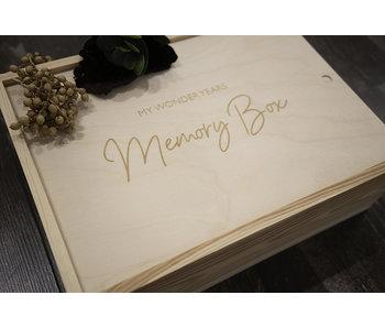 Boîte Mémoire My Wonder Years