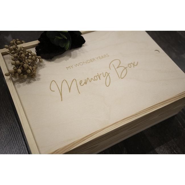 Minimoo - Memory Box My Wonder Years