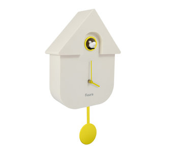 Koekoeksklok Cuckoo House - wit