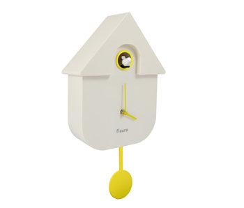 Pendule à Coucou Cuckoo House - blanc