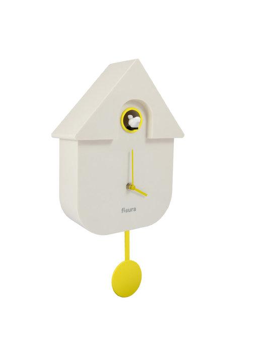 Cuckoo Clock Cuckoo House - white