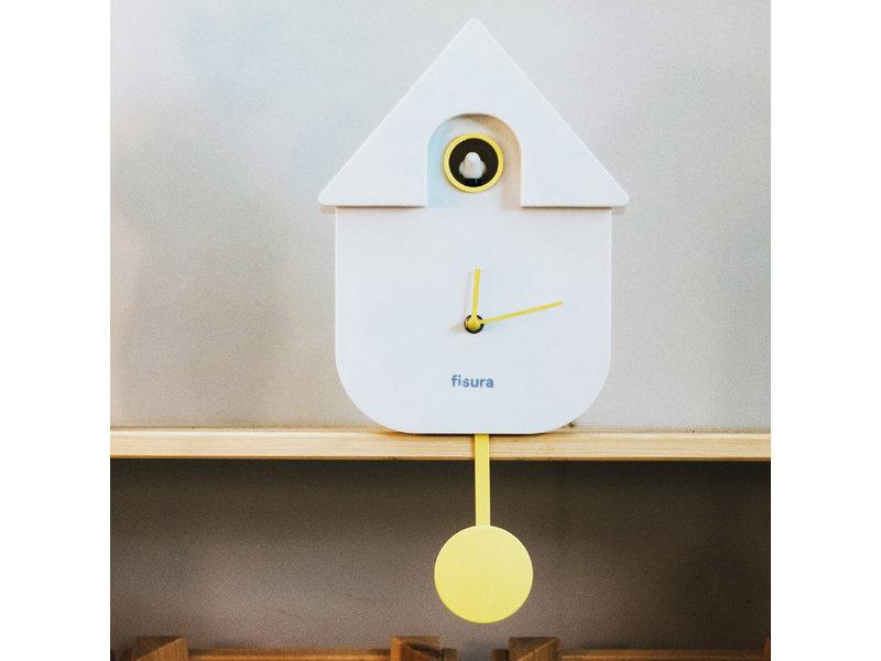 Fisura Fisura - Cuckoo Clock Cuckoo House - white
