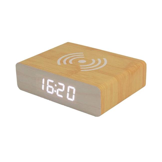 Fisura Wekker Alarmklok - Smartphonelader