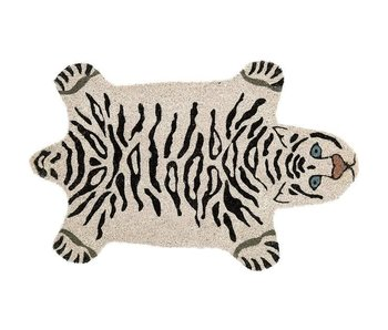 Doormat White Tiger