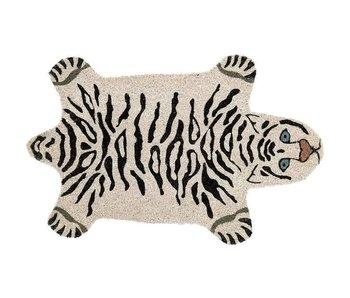 Paillasson Tigre Blanc