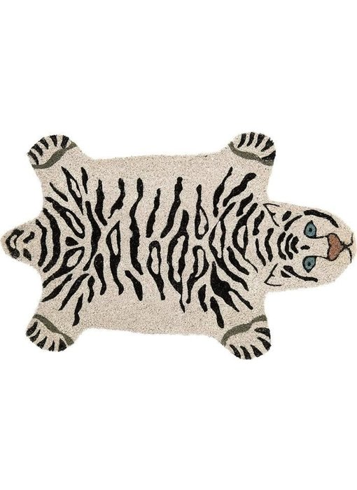 Doormat White Tiger