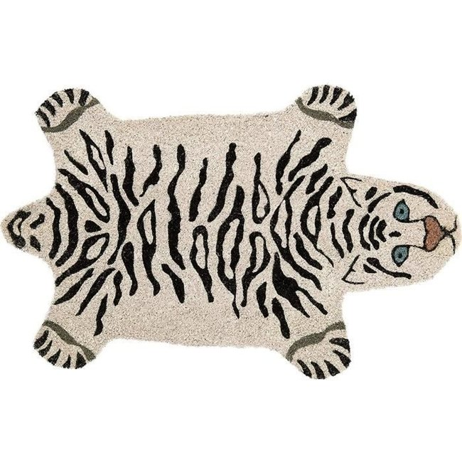 Fisura Doormat White Tiger