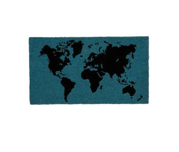 Doormat World Map