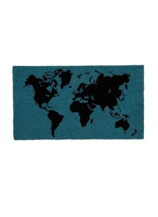 Doormat World Map