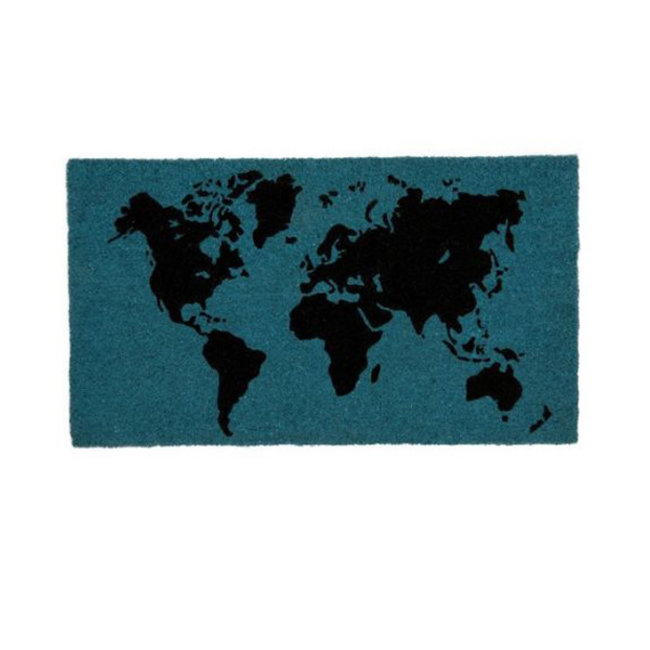 Fisura Doormat World Map