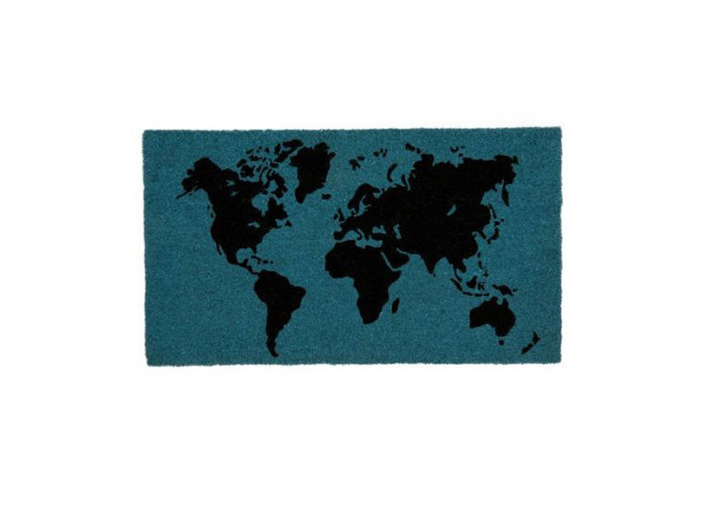 Fisura Fisura - Doormat World Map