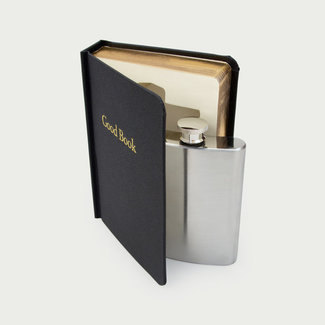 Suck UK Flask in a Good Book