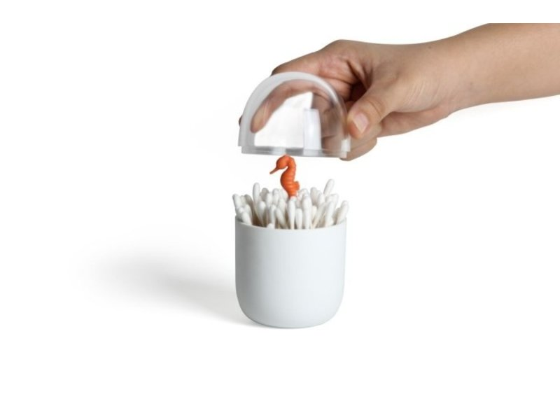 Qualy Qualy - Cotton Bud Holder Seahorse
