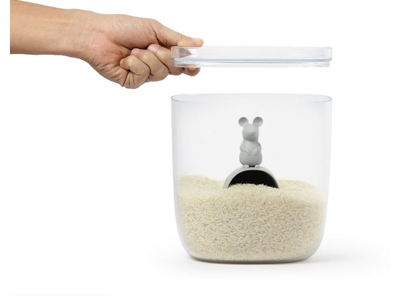 Qualy Qualy - Storage Food Jar - Container Lucky Mouse