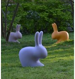 Qeeboo Qeeboo Stoel - Kruk Rabbit Chair - zwart - H 80 cm