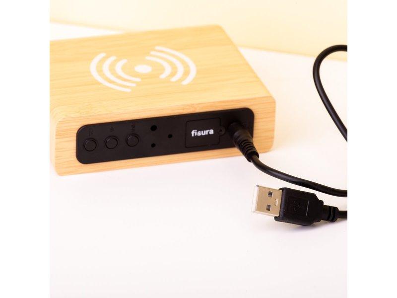 Fisura Fisura Wekker Alarmklok - Smartphonelader