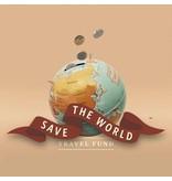 Luckies Luckies Spaarpot Save The World - wereldbol