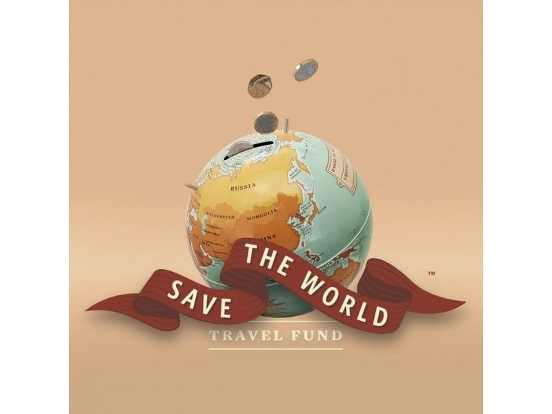 Luckies Luckies Tirelire Save The World - globe
