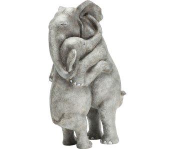 Statue Calin d'Elephants