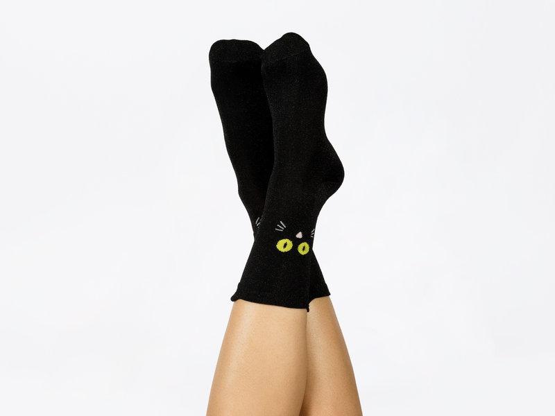 DOIY DOIY - Sokken Kat - one size
