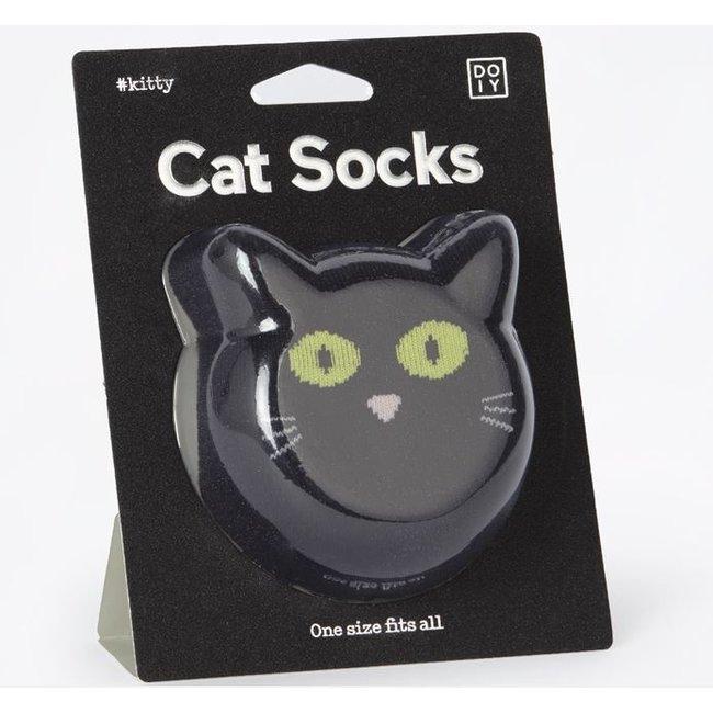 DOIY Sokken Kat