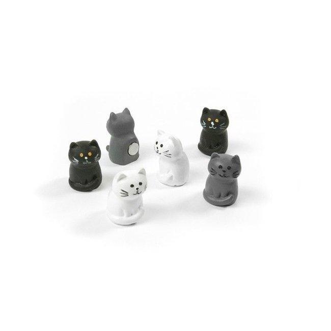 Trendform Magnets Cat - set of 6 - strong