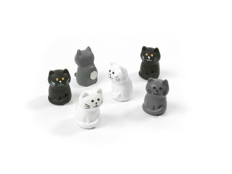 Trendform Trendform Magnets Cat - set of 6 - strong