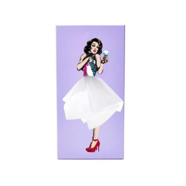Spextrum - Taschentuchhalter Tissue Up Girl - lila