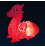 Loco Lama Loco Lama - Tafellamp Roze Draak
