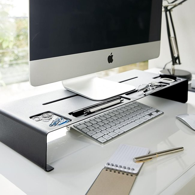 Yamazaki - PC Monitorstandaard Tower - zwart