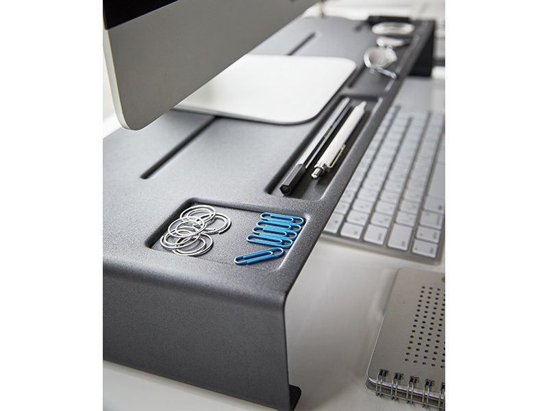 Yamazaki  Yamazaki - PC Monitorstandaard Tower - zwart