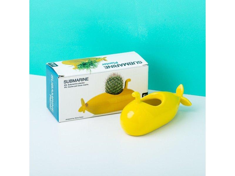 Bitten Bitten - Planter Yellow Submarine - small