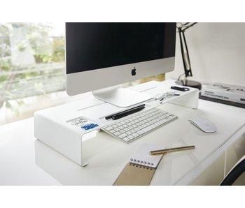 Support de Moniteur PC Tower - blanc