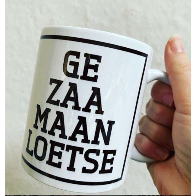 Urban Merch Mug Ge Zaa Maan Loetse