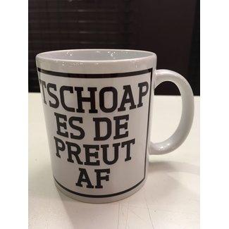 Urban Merch Mug Tschoap Es De Preut Af