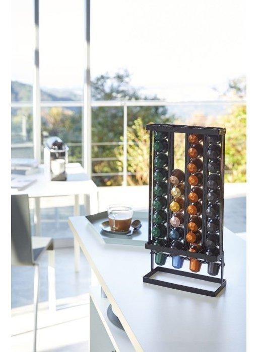 Coffee Pods Holder Tower - black