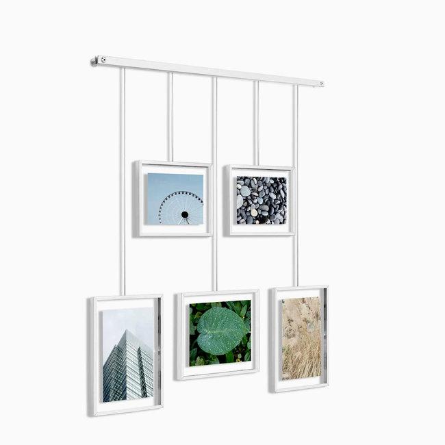 Umbra Photo Display - Photo Holder Exhibit - white