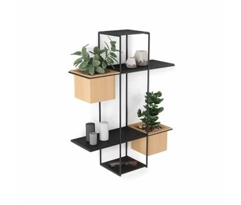 Wall Shelf Cubist Multi