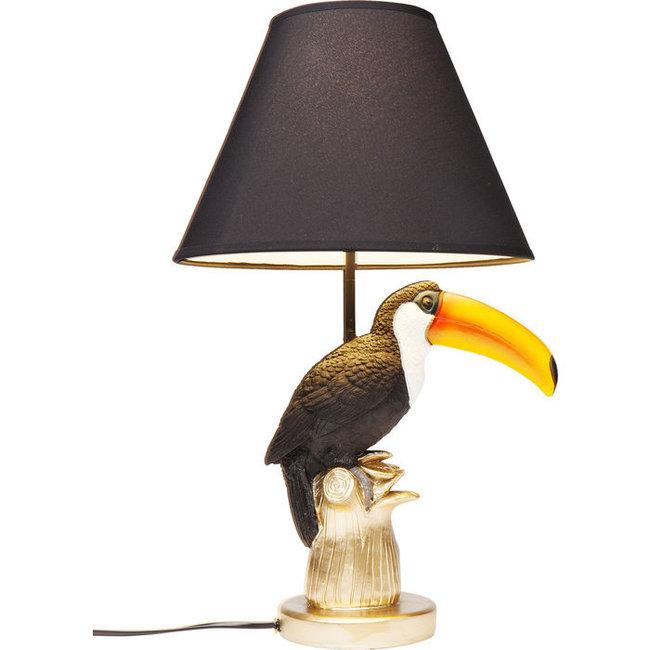 Karé Design - Lampe de Table - Lampe Animale Toucan