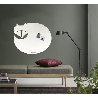 Wonderwall Whiteboard - Magnet Board White Fox XL