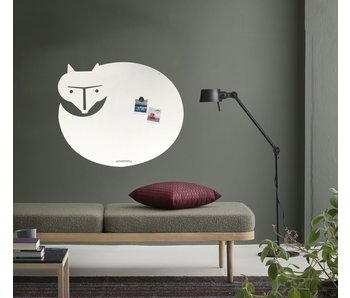 Whiteboard - Magneetbord Witte Vos XL
