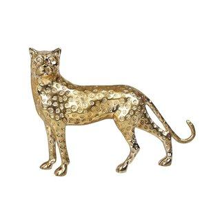 &klevering Statue Panther - gold