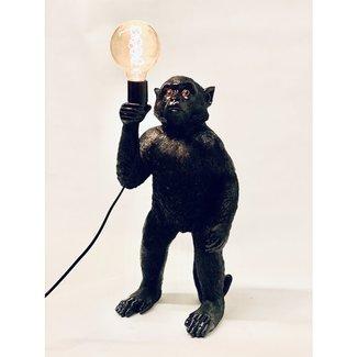 Tafellamp Zwarte Aap - staand
