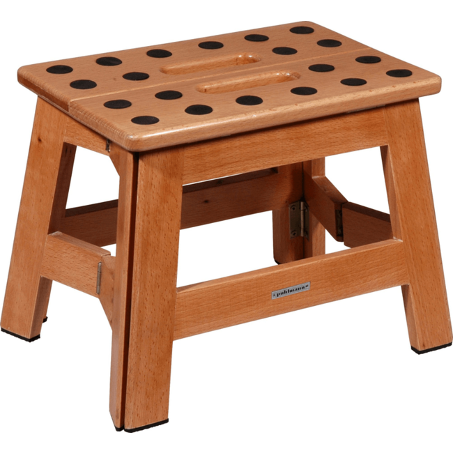 Puhlmann - Hocker James Wood - faltbar - Holz