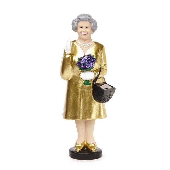 Waving Solar Queen - gold