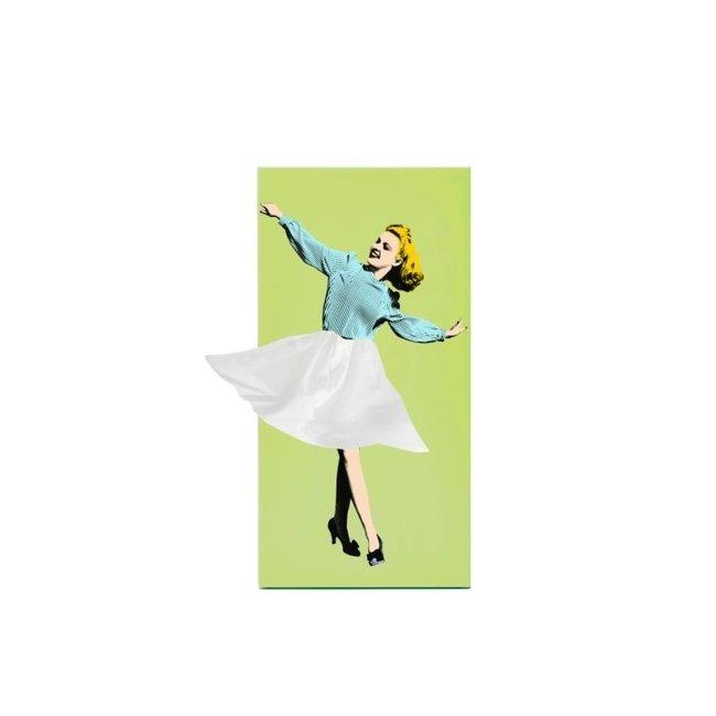 Spextrum - Taschentuchhalter Tissue Up Girl - grün