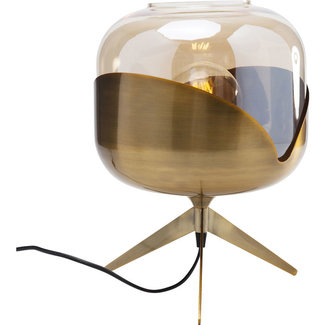 Karé Design Table Lamp Golden Goblet Ball