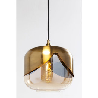 Karé Design Ceiling Light Golden Goblet Ball