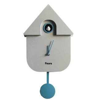 Fisura Pendule à Coucou Cuckoo House - gris
