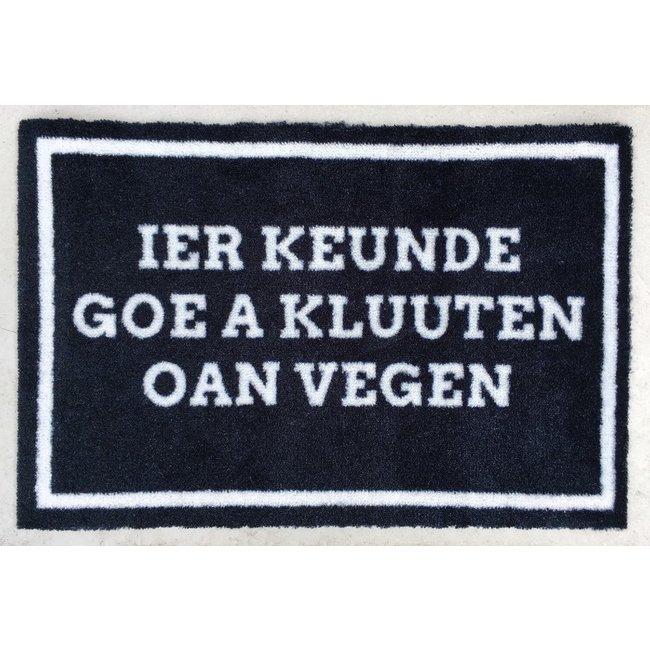 Doormat Ghent - Ier Keunde Goe A Kluuten Oan Vegen